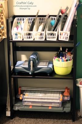 accessories shelf
