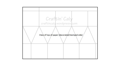 Faceted Box Top Scored View - Watermark