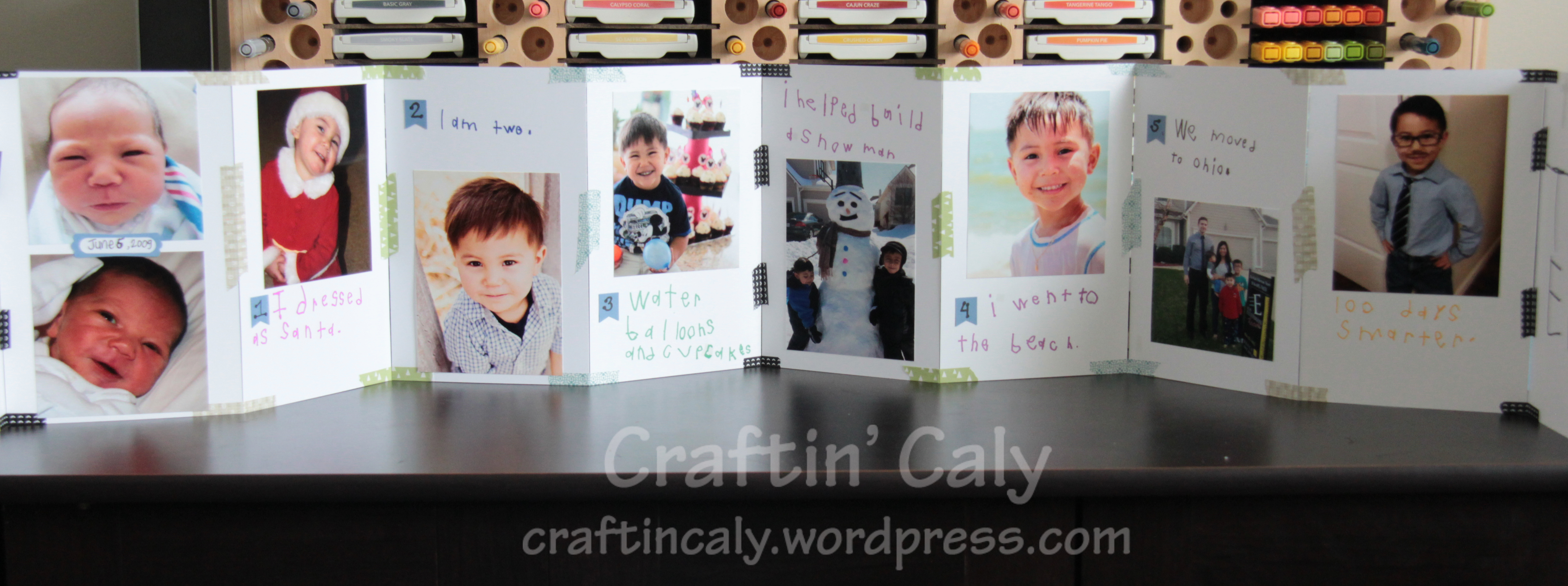 Kindergarten Timeline Project Caly Person