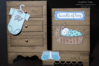 Baby Boy Step Card