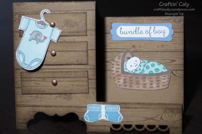 Baby Boy Step Card