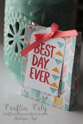 Best Day Ever 3x4 mini gift bag 2