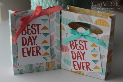Best Day Ever 3x4 mini gift bag 4