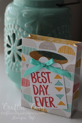 Best Day Ever 3x4 mini gift bag