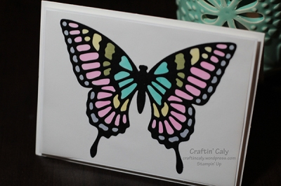 Butterfly Thinlits on Vellum 2