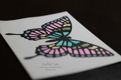 Butterfly Thinlits on Vellum 4