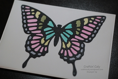 Butterfly Thinlits on Vellum
