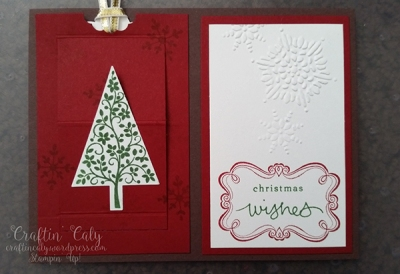 Christmas Slider Card 2