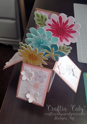 Flower Patch  - Card in a Box 1