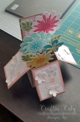 Flower Patch  - Card in a Box