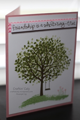 Friendship is a Sheltering Tree W1