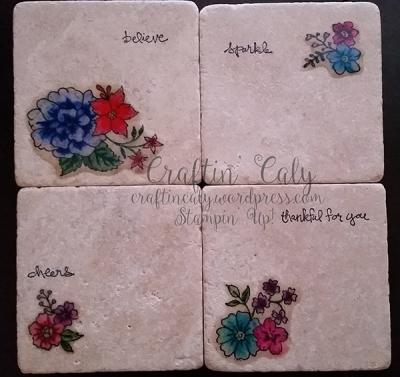 I Like You Tile Coasters