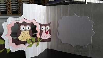 Owl Flip Card 1