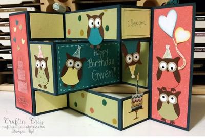 Owl Shutter Card 1