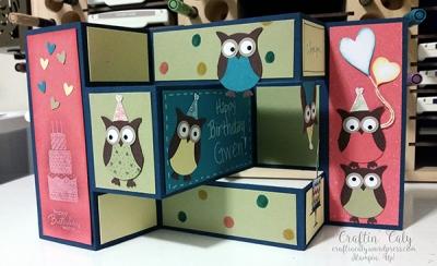 Owl Shutter Card