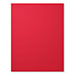 Real Red Cardstock
