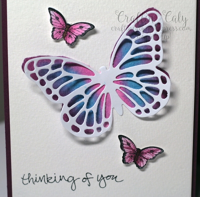 Watercolor Butterfly 2