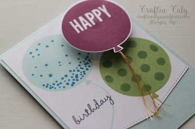 Celebrate Today Birthday Wobble Card