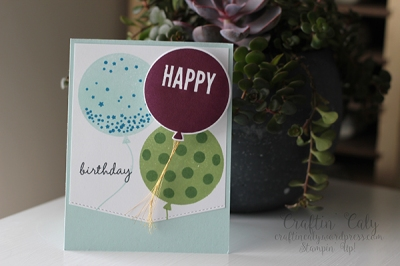 Celebrate Today Birthday Wobble Card2