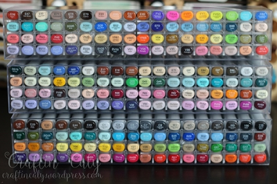 Copic Sketch Kits A D E - Top View