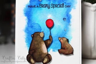Birthday Bear 1