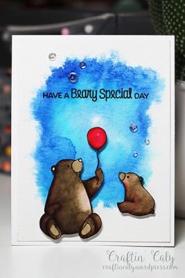 Birthday Bear 2