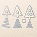 SU Perfect Pines Framelits Dies