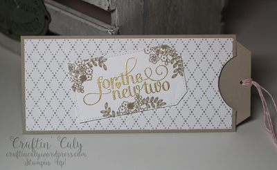 Wedding Money Slider Card