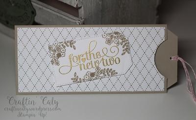 Wedding Money Slider Card