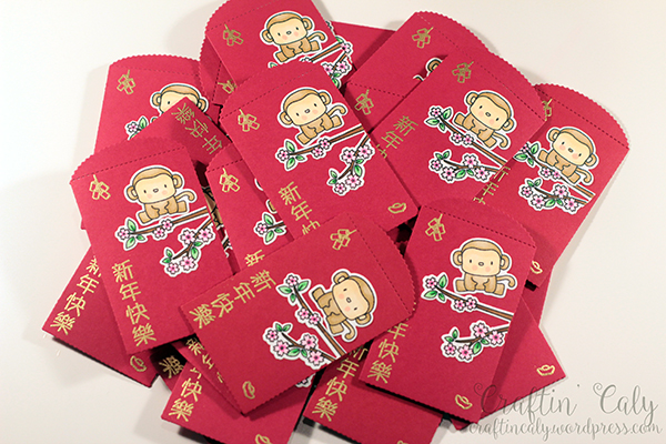2016 Year of the Monkey Lucky Red Envelopes 3
