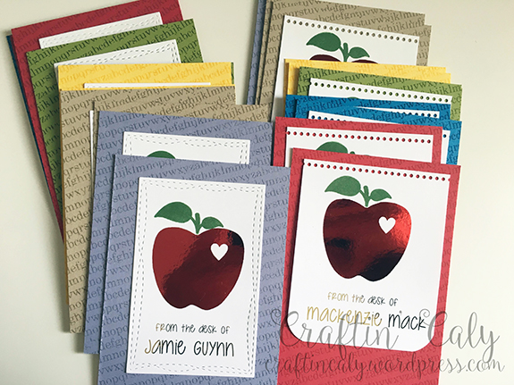 2016 Teacher Card Kit