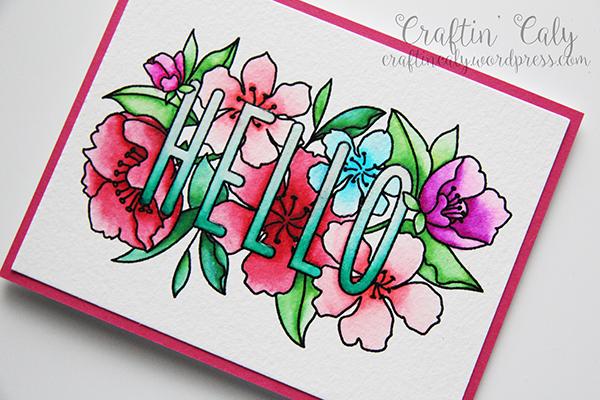 Floral Hello2
