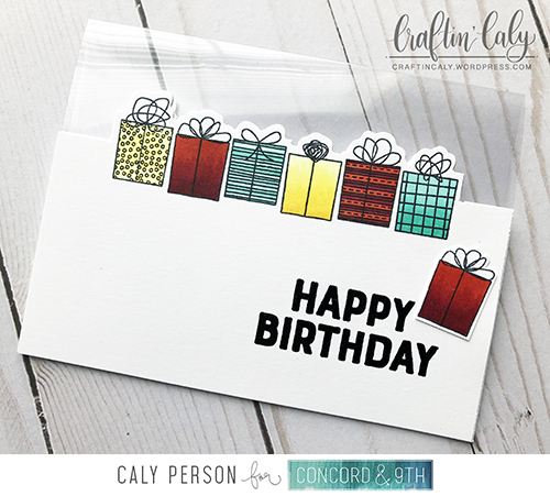 Blog Birthday Gifts Acetate Card