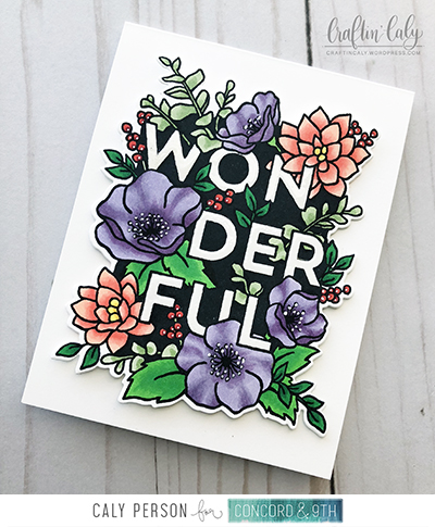 Blog Wonderful Florals - Copics