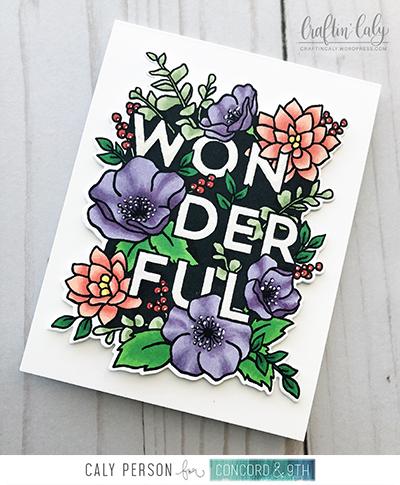 Blog Wonderful Florals - Copics