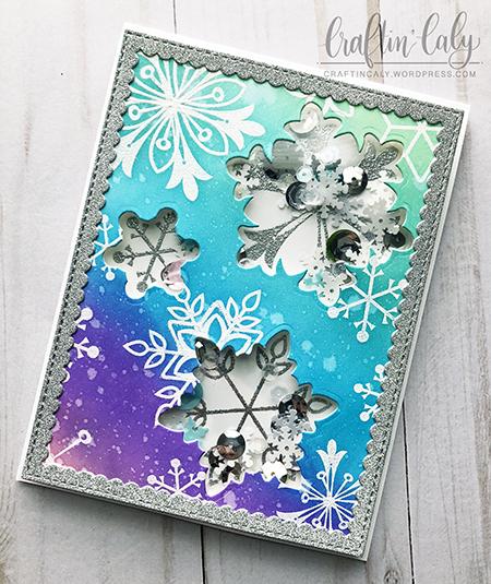 Snowflake Splendor Shaker