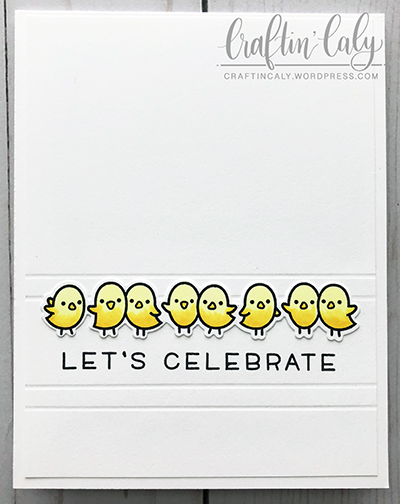 Let's Celebrate - Simply Celebrate - Chicks