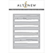 ALT Watercolor Stripes Cover Die