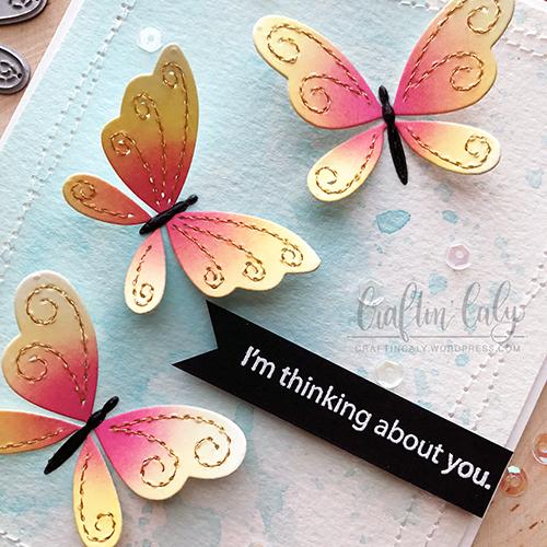 SSS - Stitching Butterflies 1