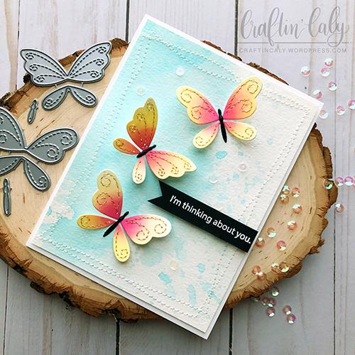 SSS - Stitching Butterflies