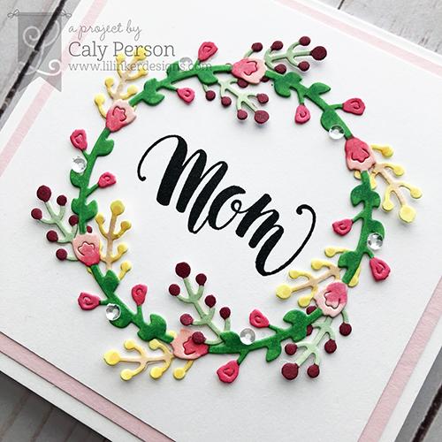 Caly - Spring Wreath close up- WM