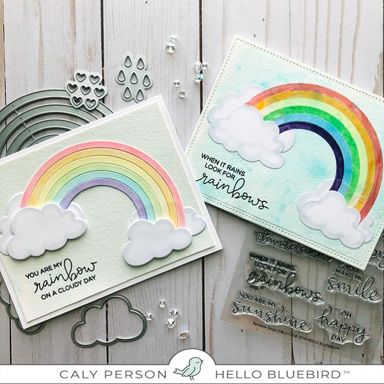 Rainbow Sky Cards