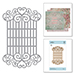 SB Swirl Lattice Panel Etched Dies Blooming Garden