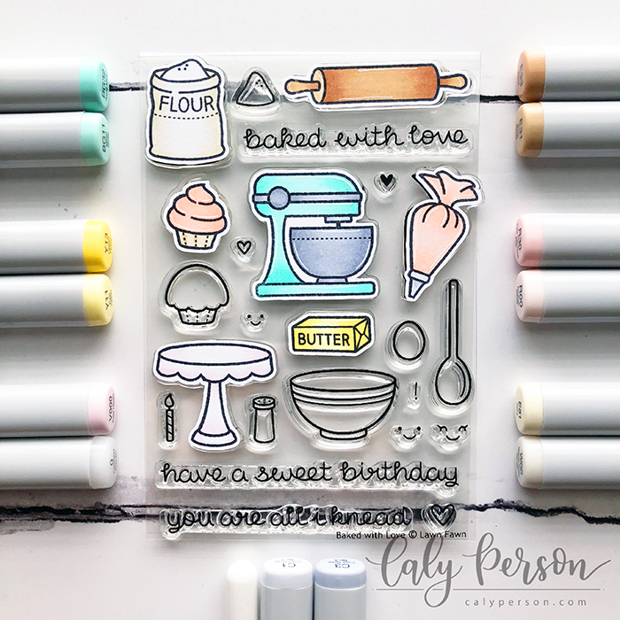 Baked With Love Coloring