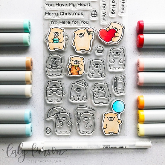 Bitty Bears Coloring