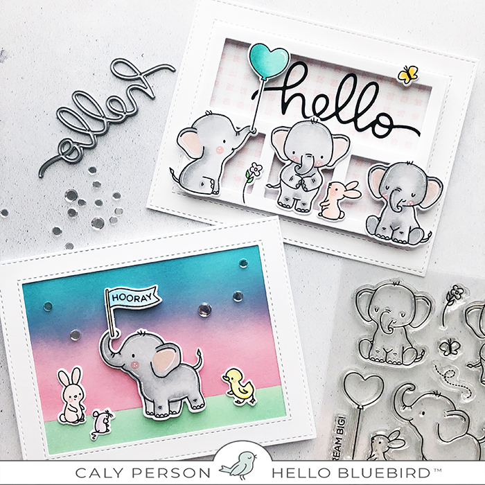 Elephant Friends Cards
