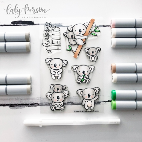 Koala Friends Coloring 1