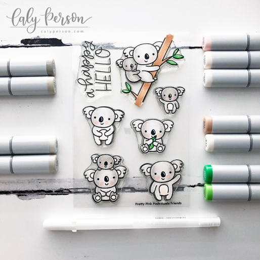 Koala Friends Coloring 1