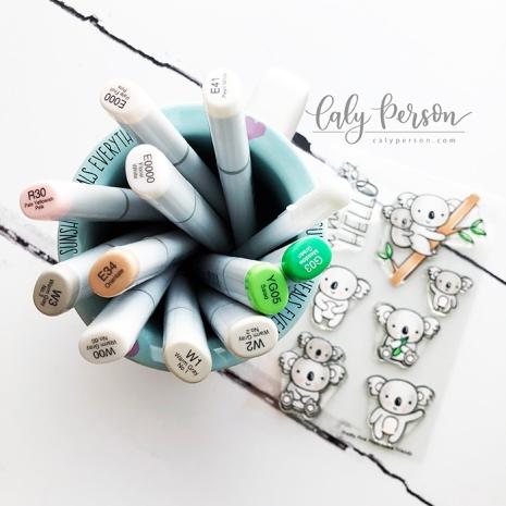 Koala Friends Coloring