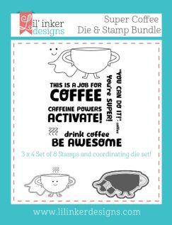 LID Super Coffee Stamp & Die